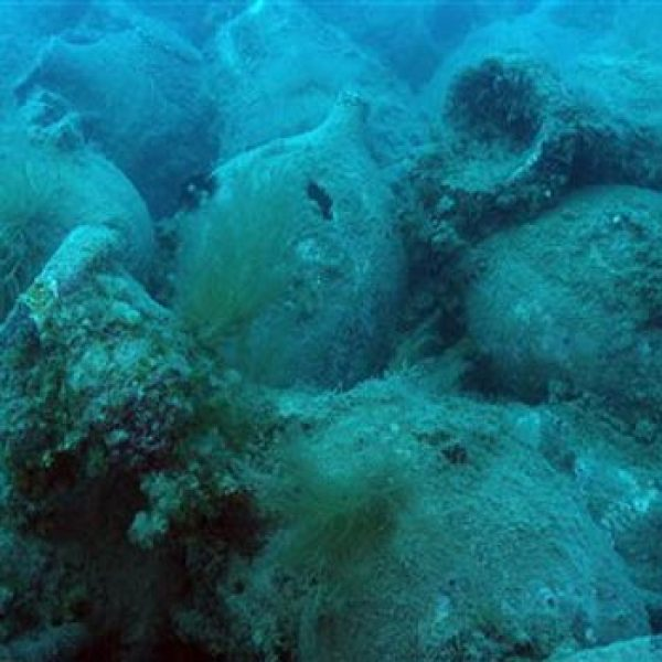 Roman shipwreck full of wine jars discovered