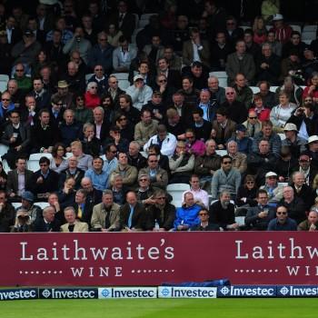 Laithwaites Wine advertising at Lord's Cricket Ground
