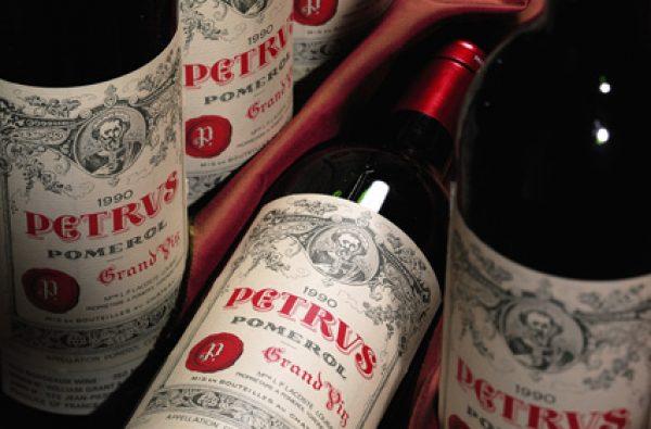 Pétrus tops NY sale