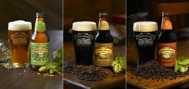 Beers from the Sierra Nevada Brewing Company