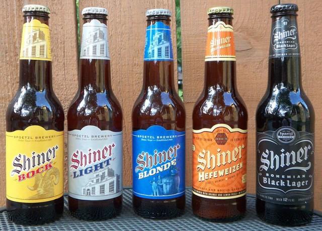 The Spoetzl Brewery's range of bottled beer (Image © Spoetzl Brewery)