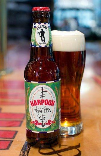 Harpoon's Rye IPA