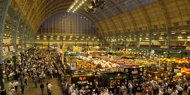 The Great British beer festival at London's Olympia (Image © GBBT.com)