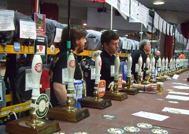 The National Winter Ales Festival (Image © Stuart Revell)