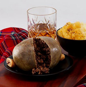 A traditional Burns supper