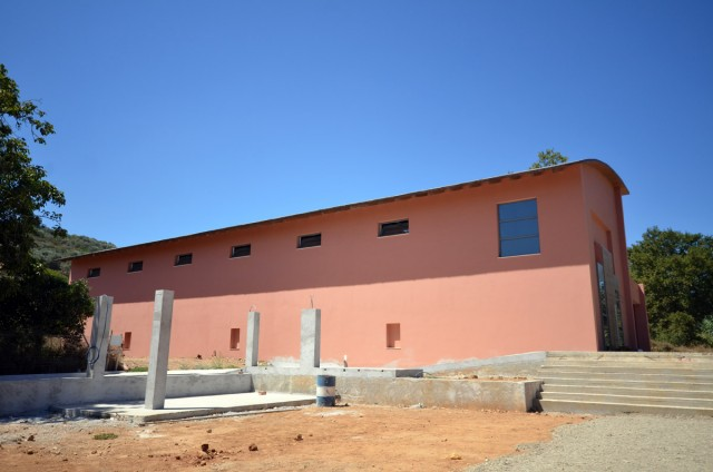 The new Manousakis winery