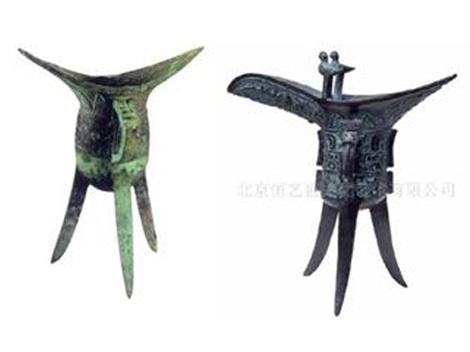 Bronze Age Chinese wine vessels