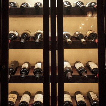 A selection of wine at Club 33