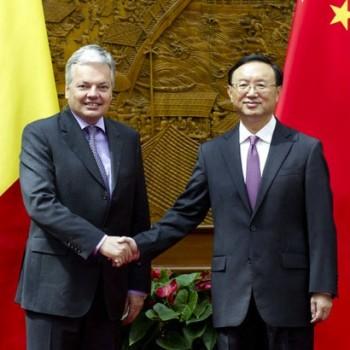 CHINA-BEIJING-YANG JIECHI-BELGIUM-DIDIER REYNDERS-MEETING (CN)