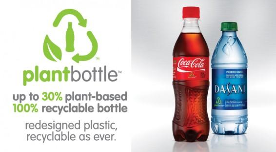 Coca-Cola-Plant Bottle