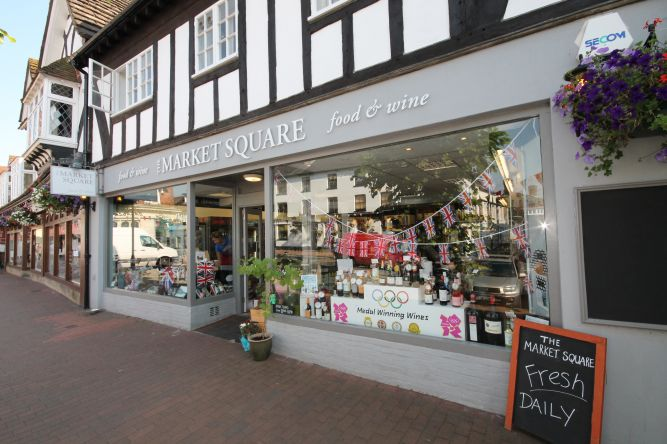 The Market Square East Grinstead