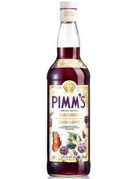 Pimm's Blackberry and Elderflower