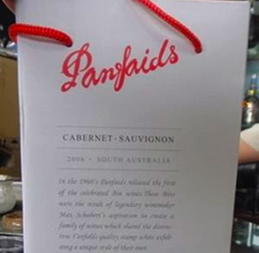 """Fake Penfolds being sold as """"Panfaids"""" in China"""