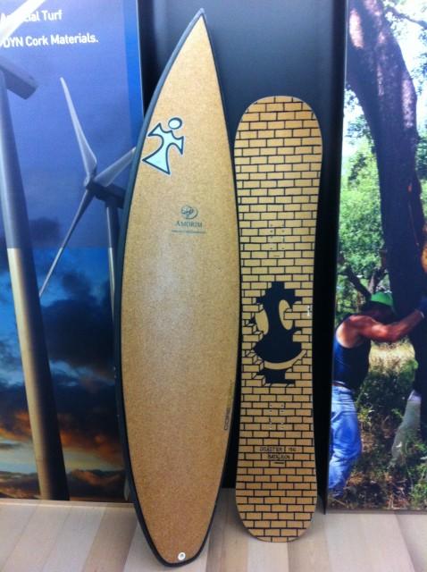 cork surf board