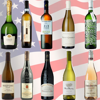 Top 10 wines in the US press