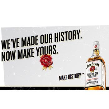 Jim Beam Make history campaign