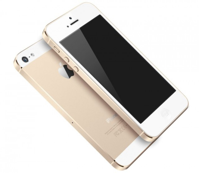 """The new """"Champagne""""-coloured iPhone 5S"""
