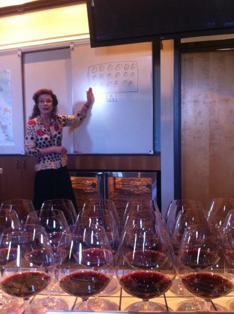 15 Pinot tasting