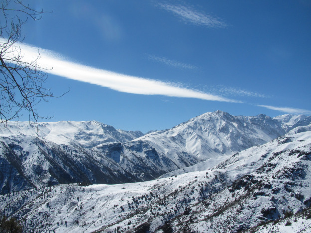 Chile's snow-capped Andes