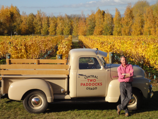 Neill at his estate in Central Otago