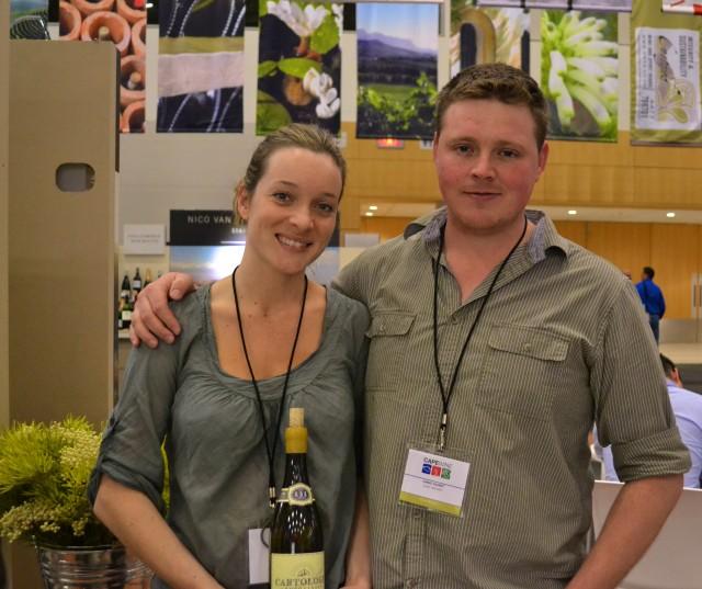 Chris & Suzaan Alheit of Alheit Vineyards