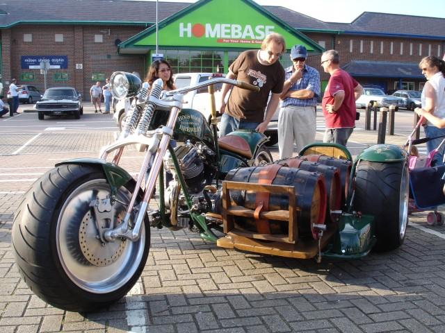 Beer Motorbike