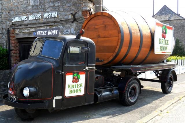 kriek boon barrel truck