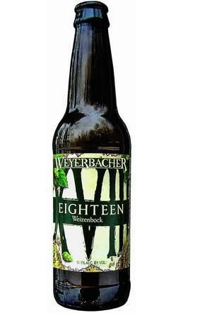 Eighteen Weizenbock, Weyerbacher Brewing Co., Easton, PA