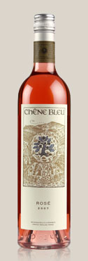 chene bleu rose