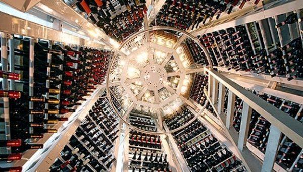 Top 10 wine cellars