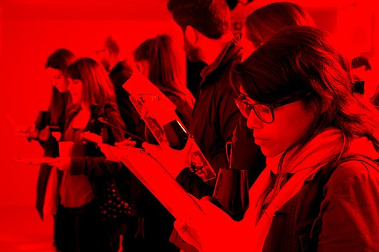 The Colour Lab turns red