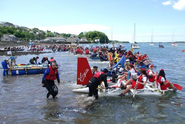 The Raft Race - 2 - taken by Marc Rees Jones of Engan