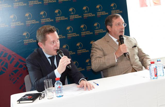 Vinexpo press conference