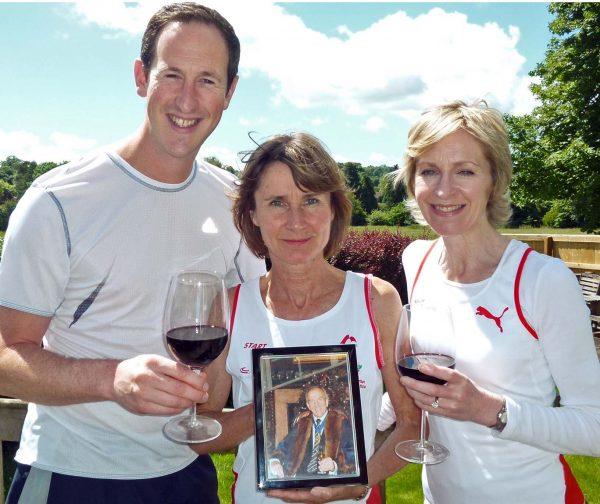 Michael Cox inspires marathon effort