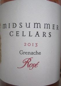 Midsummer Cellars Rosé