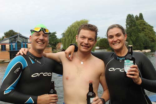 brakspear club to pub swim complete aug 14