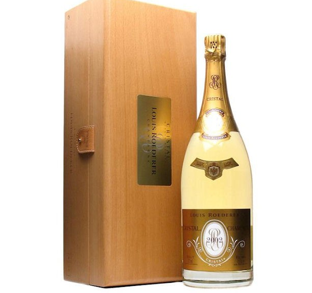 The conmen stole three magnums of Cristal 2002