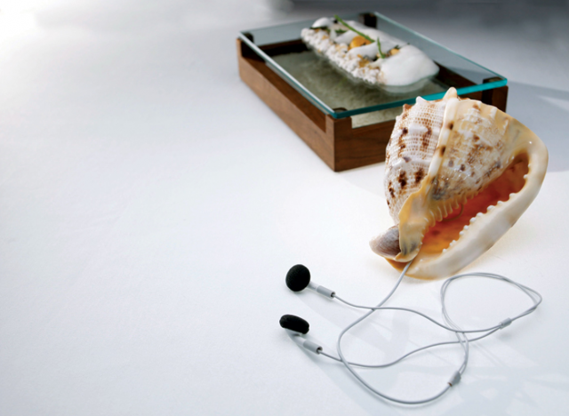 Sound of the Sea at The Fat Duck. Photo credit: Star Chefs