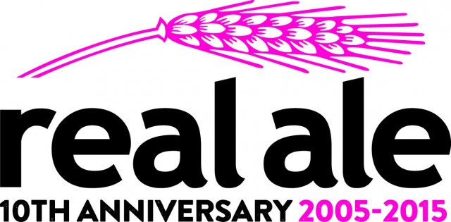 Real Ale Ltd 10th Anniversary Logo