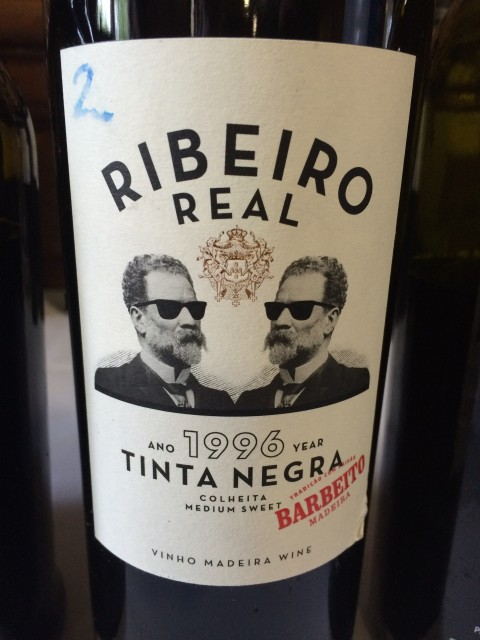 Is this the first Madeira to declare Tinta Negra on its front label?
