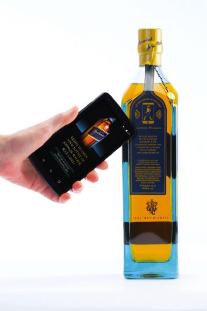 Diageo Smart bottle Johnnie Walker