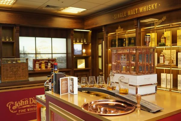 Dewar's whisky outlet opens in Taiwan
