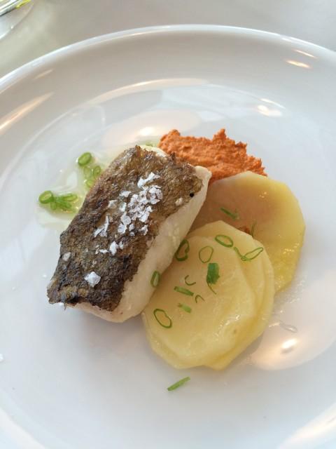 cod with romesco