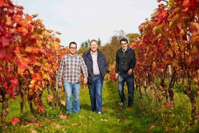 The Litmus Wines team are experimenting with orange Bacchus