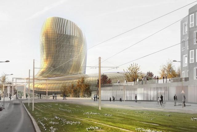Bordeaux's Cité du Vin, set to open on June 2 2016, has drawn comparisons to Bilbao's Guggenheim Museum (Photo: Cite du Vin)