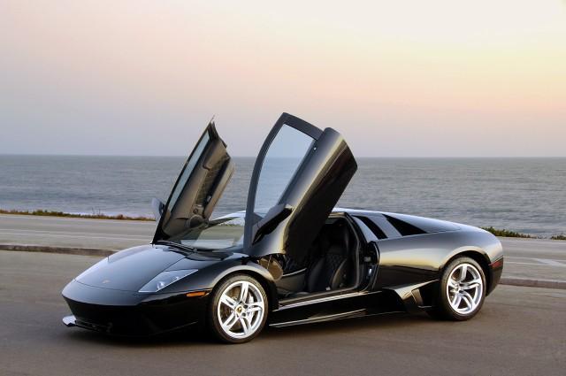 "The Lamborghini Murcielago, meaning ""bat"" in Spanish"
