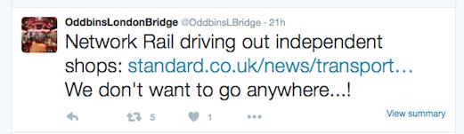 Oddbins tweet