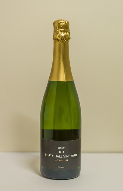 Forty Hall Vineyard 2013 Brut, London's 'first sparkling wine since the Middle Ages' (Photo: Forty Hall)