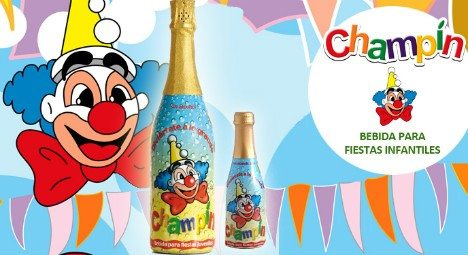 Champín is a fruit-flavoured kids drink that sells for between €1.50 and €3.00, but the Comité Champagne said it was too similar to the sparkling wine (Photo: Champín)
