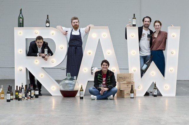 The RAW London team hosted a pop-up wine bar during its annual natural wine show in May